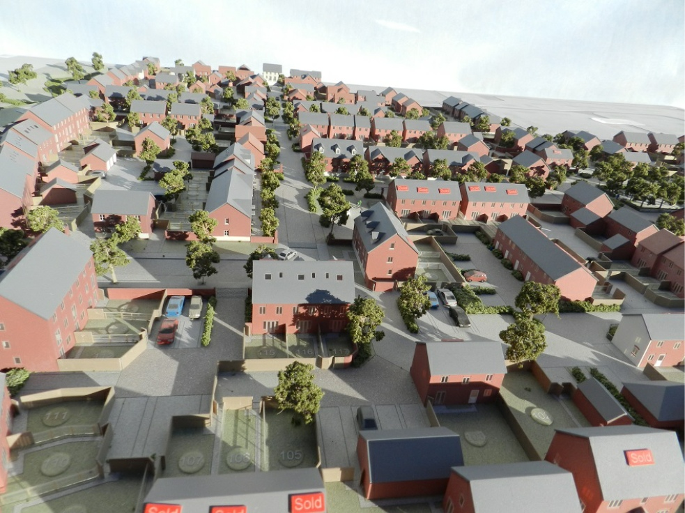Large Property Development Applecore PDM in Portsmouth in Hampshire
