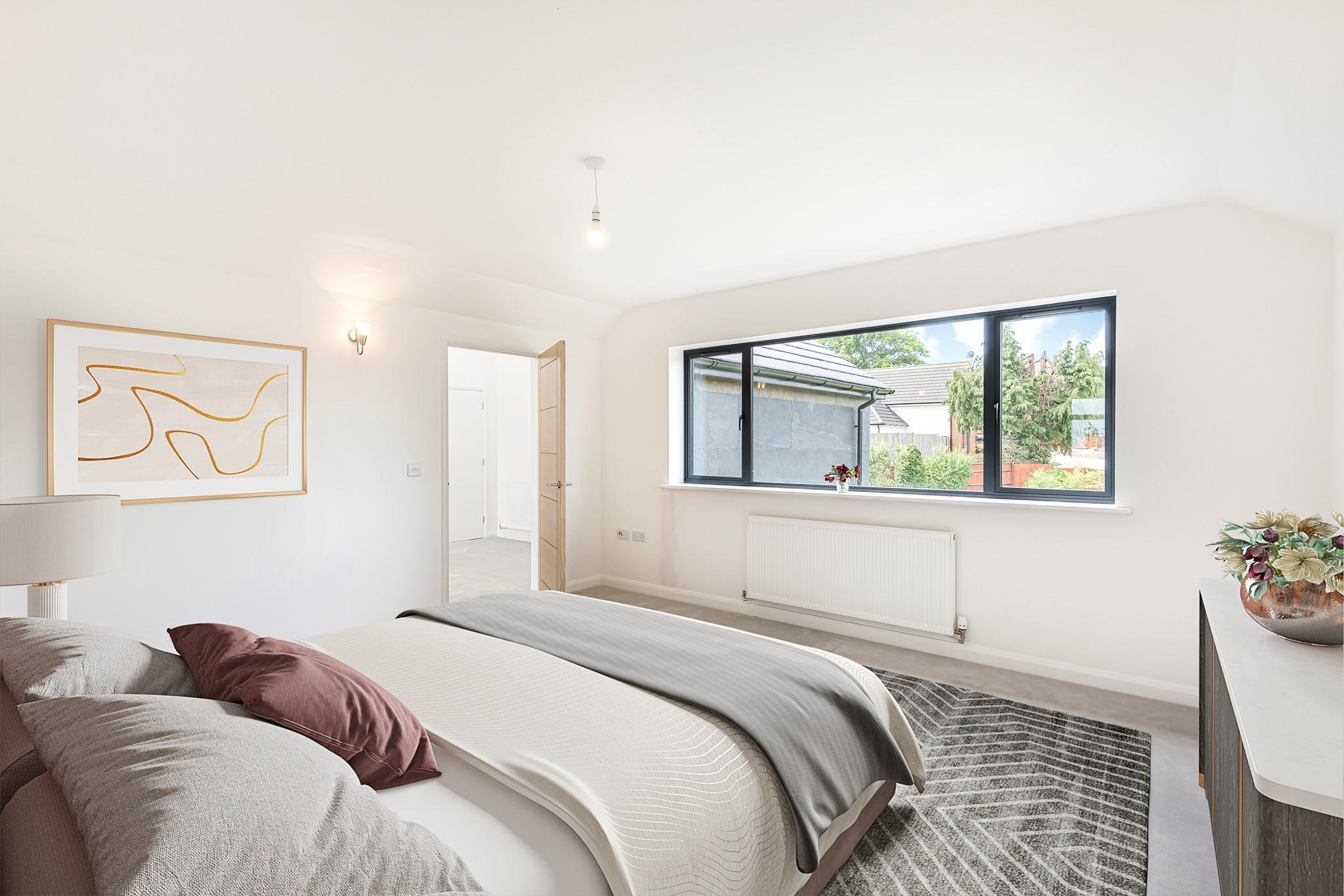 After - New Build House Development Project by Applecore PDM Burridge Hampshire