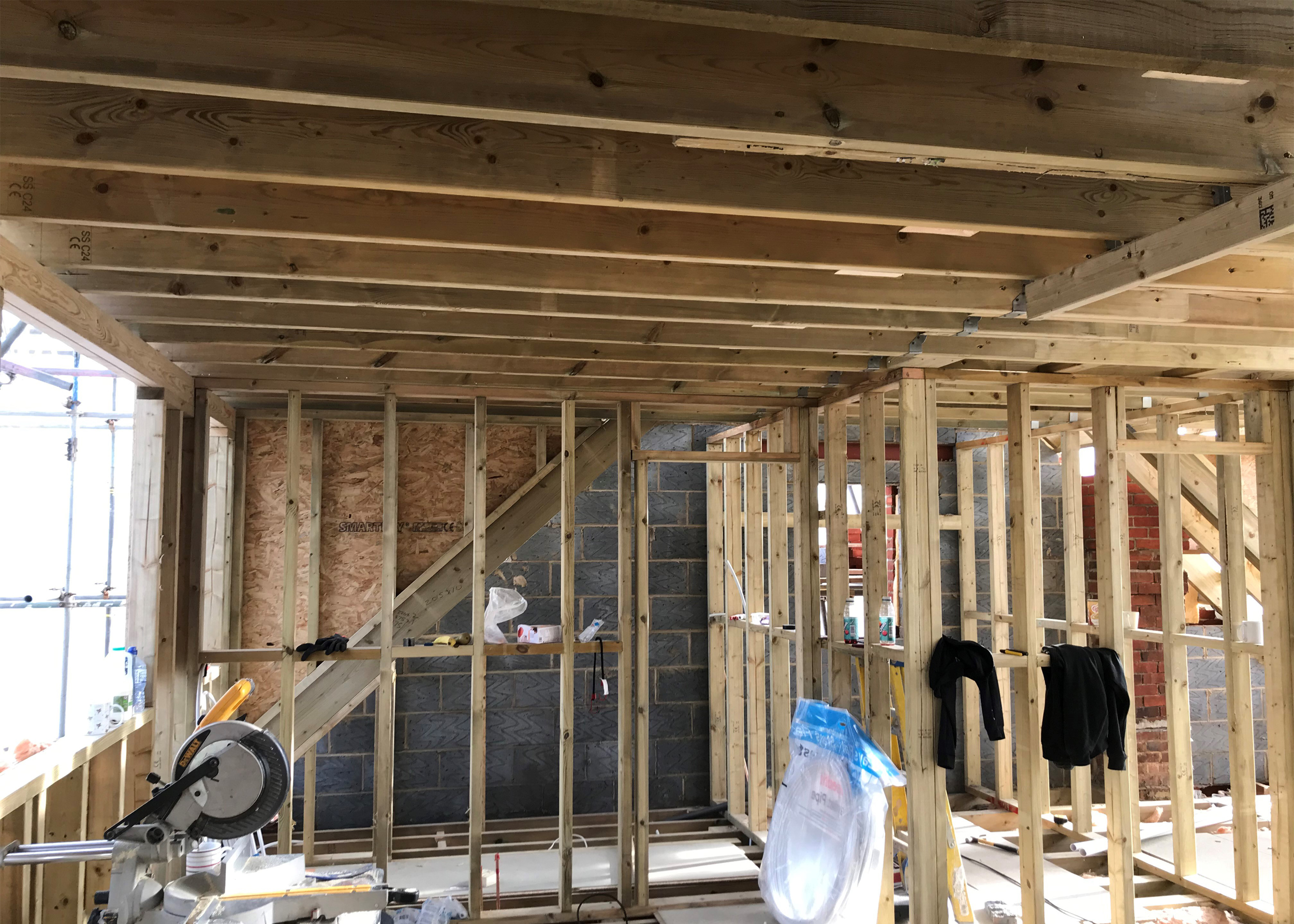 Loft Conversion by Applecore PDM in Lovedean Portsmouth - During 3